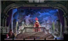 Scarlet Pimpernel Set Design