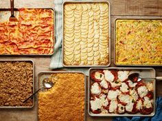 When prepared on basic sheet pans, these classic comfort dishes become even more irresistible. Get the recipes from Food Network. Italian Dishes, Italian Recipes, Ketchup, Mini Cupcakes, Food Network Recipes, Cooking Recipes, Pan Cooking, Oven Recipes, Meal Recipes