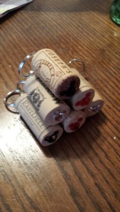 The adult fish extender gifts! Made with Niagara Winery corks!