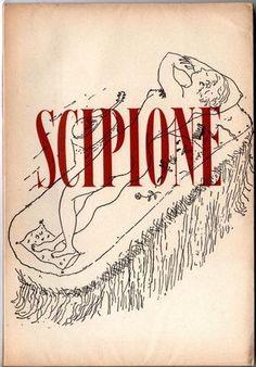 Umbro Apollonio, Scipione. Venezia, Cavallino, 1945. Volume stampato in occasione della 61° mostra del Cavallino dedicata a Scipione, con dipinti e disegni della collezione Cardazzo. XI tavole in nero