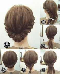 """9,855 Likes, 59 Comments - Arezo Sayady (@arezo.stylist) on Instagram: """"Casual updo/style for medium/long hair.  Book your appointment today for free consultation …"""""""