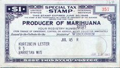 Since 1937 with the passage and adoption of the Marihuana Tax Act, marijuana has been effectively prohibited in the United States. Description from thetruthaboutforensicscience.com. I searched for this on bing.com/images