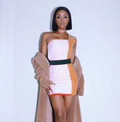 Naya Skye is being called the next Tyra Banks of the modeling world. Black Girl Magic, Black Girls, Black Women, Looks Style, Black Is Beautiful, Swagg, Girls Night, Sexy Dresses, Dress To Impress