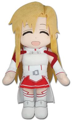 Sonic 158768: New 18 Large Smiling Asuna Stuffed Plush Doll - Ge-52710 - Sword Art Online -> BUY IT NOW ONLY: $39.99 on eBay!