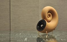 3ders.org - First 3D printed wooden Spirula speakers, model available for free download | 3D Printer News & 3D Printing News