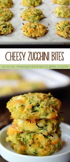 cheesy zucchini bites are a healthier zucchini fritter without sacrificing any flavor.These cheesy zucchini bites are a healthier zucchini fritter without sacrificing any flavor. Vegetable Recipes, Vegetarian Recipes, Healthy Recipes, Cheap Recipes, Vegetarian Cooking, Vegetable Appetizers, Bariatric Recipes, Easy Recipes, Healthy Zucchini Fritters