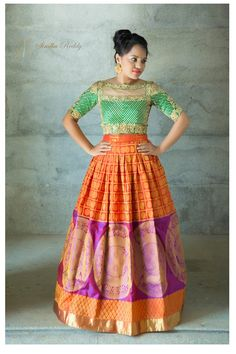 Shopzters | 25 Kanjeevaram Lehenga Inspirations Handpicked For The Sister Of The Bride
