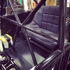 Back seat with shock mounts