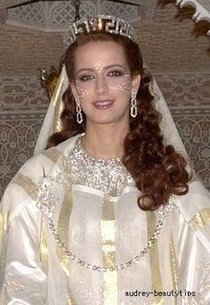 【モロッコ王室】ラーラ・サルマ妃 2002年結婚式写真♪世紀のロイヤルウエディング