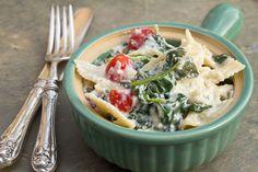 Veggie Ricotta Pasta #food #vegetarian #pasta #cheese