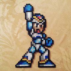 Mega Man X perler beads by  brad_skillz