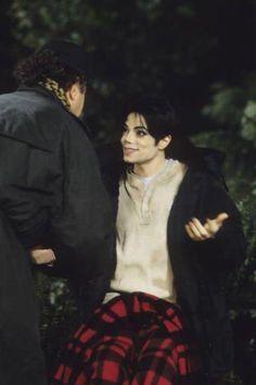 "Michael Jackson   On the set of the ""Childhood"" short film   1995"