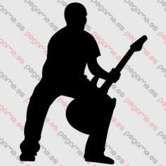 Pegame.es Online Decals Shop #guitar #instrument #live #concert #vinyl #sticker #pegatina #vinilo #stencil #decal