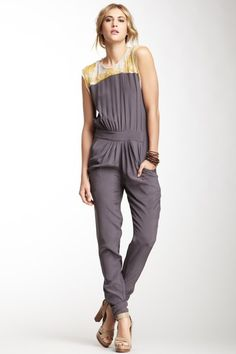 Winter Kate Lux Silk Jumpsuit