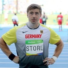 David Storl of Germany in Men's Shot Put Qualifier at Rio Olympic Games