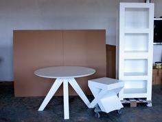 masa rotunda Spider White Oak, Furniture, Home Furniture, Arredamento