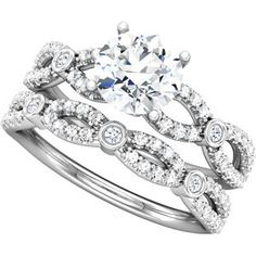 Stuller engagement ring, Series 121880  Stuller gives us the ability to order hundreds of settings to create your perfect ring. Come in to Jenkins Jewelers and see our selection.