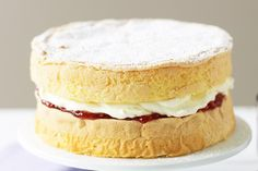Our Gluten-free sponge cake is the perfect treat for those on a special diet. FODMAP friendly recipe for a Low FODMAP diet.