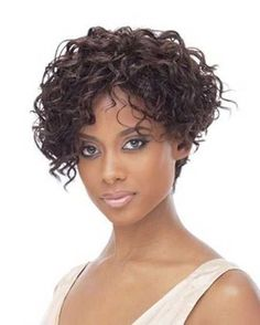 Short haircuts for really curly hair short curly bob hairstyles – new short Long Face Haircuts, Short Curly Hairstyles For Women, Haircuts For Curly Hair, Curly Hair Cuts, Weave Hairstyles, Curly Hair Styles, Quick Hairstyles, Choppy Haircuts, Shirt Curly Hairstyles