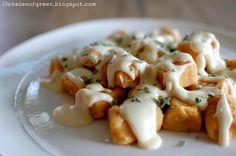 Sweet Potato Gnocchi .....  via 33 Shades of Green
