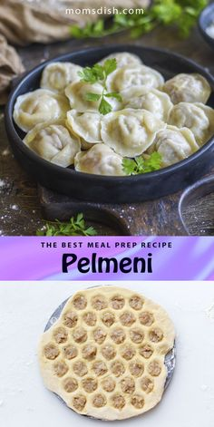 These pelmeni or Russian dumplings make for the best meal prep recipe. You can prep and freeze these dumplings and then cook them up on days when you need a super quick lunch or dinner. This recipe is easy to follow and it produced the best classic Russian pelmeni. #pelmnei #dumplings #dinnerrecipes #dinnerideas #easydinnerrecipes #familydinnerrecipes