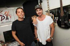 Sweden: Albin and Mattias Andréasson for Melodifestivalen