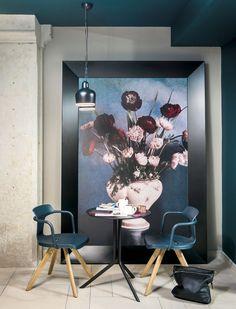 Fototapety, okładziny ścienne, foto-boardy, obrazy drukowane na płótnie... Zobacz jak wykorzystać druk wielkoformatowy w dekoracji wnętrz. Inspiracje Dekorami.pl