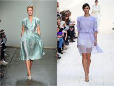 DONNA KARAN & CHLOE S/S13 Read why we love this trend at www.boemagazine.com