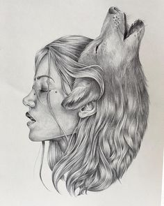 the wolf is my spirit animal wolf art sketches, wolf - wolf art drawings Wolf Tattoos, Body Art Tattoos, Art Drawings Sketches, Animal Drawings, Pencil Drawings, Wolf Drawings, Sketch Art, Tattoo Sketches, Sketch Ideas