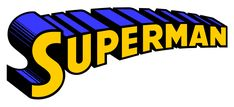 The Evolution of the Superman Word Logo