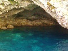 Meganisi Caves, Greece