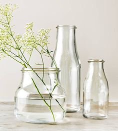I feel like I'd get a medium or small sized glass vase for if I've picked any wildflowers or if I decided to buy myself flowers and they could be used for storing other stuff if I need to. But I'd try to get it from a charity store since you can give old things a new home.