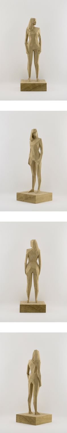 I love the nude in statue form. This is so modern and honest.