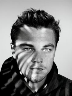 Gobo'd - Leonardo DiCaprio by Richard Burbridge
