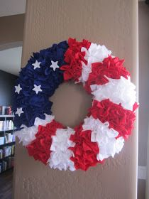 The Creative Cubby: Fourth of July Wreath