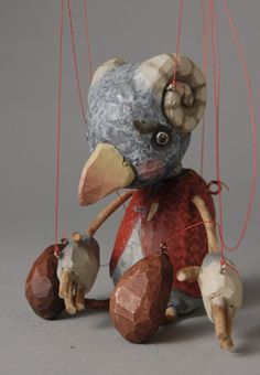marionette by Sota Sakuma  Sorta looks like a bird, but the horns confuse me!
