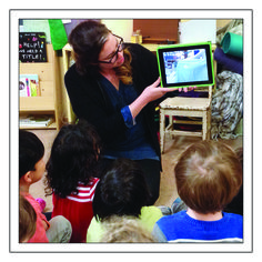 Supporting Children's Reflection With Phones and Tablets - How recordings of children's play, stories and conversations can enhance learning.
