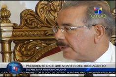 Danilo Medina Dice Que Viene Con Nuevo Tren Gubernamental A Partir Del 16 De Agosto