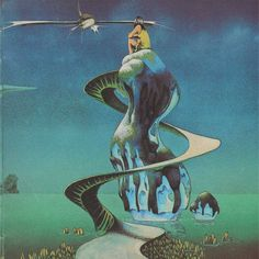 """Long time waiting to feel the sound"" #yesband #yessongs #rogerdean"