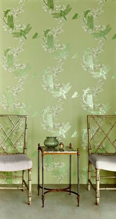 Dragonfly Apple Green by Barneby Gates - Apple Green - Wallpaper : Wallpaper Direct Feature Wallpaper, Unique Wallpaper, Green Wallpaper, Wall Wallpaper, Cream And Grey Kitchen, Dragonfly Wallpaper, Marimekko Wallpaper, Master Suite Bedroom, Interior And Exterior