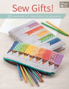 Book SEW GIFTS by Top Designers by CharmCottageFabrics on Etsy