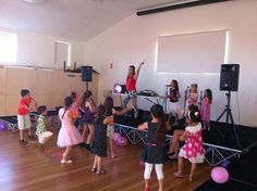 """""""I'd like to thank Christine from Bop till you drop Sydney for a fantastic party she hosted for my daughters 7th birthday yesterday. She kept 25 kids entertained for the whole 2 hours- she truly was great. Great job! Thank you once again!"""" R. Kapitsas."""