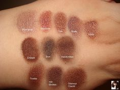 Mac Eyeshadows For Hazel Eyes | Productrater!: Updated MAC Eyeshadow Collection and Swatches