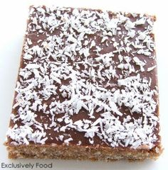 Exclusively Food: Chocolate Weet-Bix Slice Recipe