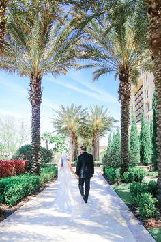 The Four Seasons Resort At Walt Disney World Wedding   Orlando Florida wedding venues hotel (Scribbled Moments Photography)