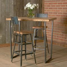 Beautiful Rustic Bar Height Tables