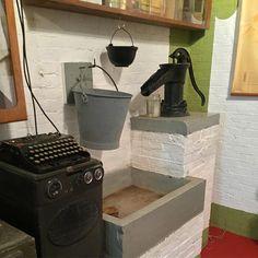 De nog werkende waterpomp van Fort bij Abcoude #Abcoude #StellingvanAmsterdam #Stampions #werelderfgoed #FortbijAbcoude