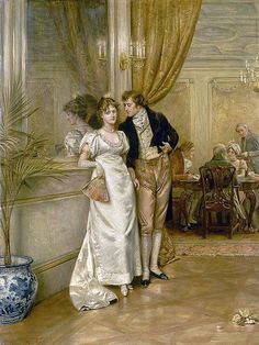 by George Goodwin Kilburne (English 1839 - Classic Paintings, Old Paintings, Embroidery Patterns, Cross Stitch Patterns, Intermediate Colors, Victorian Paintings, Art Ancien, Cross Stitch Supplies, Bunt