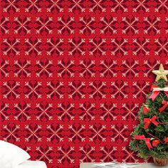 Nesse Natal Faça algo diferente e Moderno, Use e Abuse dos Adesivos de Parede da Aqui Gruda para decorar o ambiente de sua casa, deixe tudo muito lindo para receber as visitas de final de ano...  http://www.elo7.com.br/enfeites-de-natal-adesivo-ponto-cruz/dp/80F228