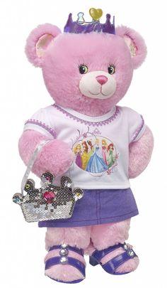 Taking Lovey to Disney World {Disney Tips} Giant Teddy Bear, Teddy Bears, Build A Bear Party, Teddy Bear Cartoon, Build A Bear Outfits, Disney Princesses And Princes, Paddington Bear, Love Bear, Bear Art